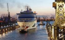 AIDAcara in der Lloyd-Werft: Abgasfilter (Vorbereitung), Teensclub und Renovierung
