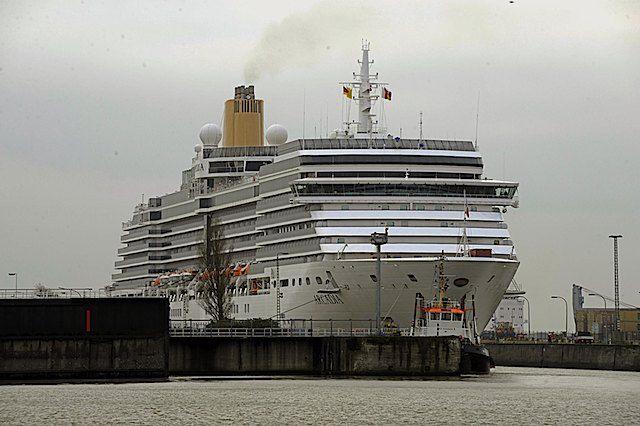 P&O Arcadia / © Lloyd Werft Bremerhaven