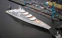 Azzam die größte Megayacht der Welt: Made by Lürssen-Werft