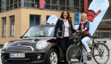 AIDA führt Leihfahrzeuge (Autos / Fahrräder) für Mitarbeiter ein