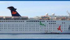Kreuzfahrtschiffe als Hotelschiffe in Sotschi bei der Olympia 2014