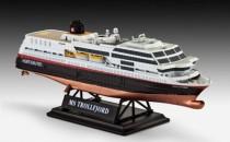 MS Midnatsol und MS Trollfjord als Revell-Modellbausatz