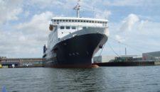 Mann über Bord auf Fähre ASK mitten in der Ostsee