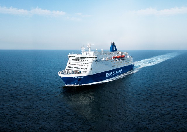King Seaways auf der Route Amsterdam – Newcastle - © DFDS Seaways