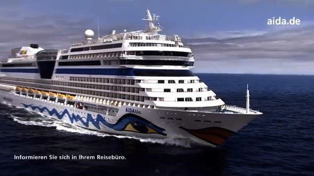 AIDA Cruises TV Werbung / Screenshot Youtube AIDA Cruises