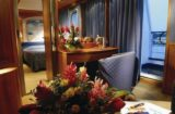 Balkonsuite: Wohnraum auf MS Azores