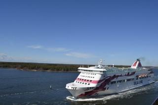 Baltic Princess in Mariehamn - Bildquelle: Seefahrt-Aktuell/Marcel Brech