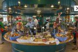 Buffet-Restaurant auf MS Azores
