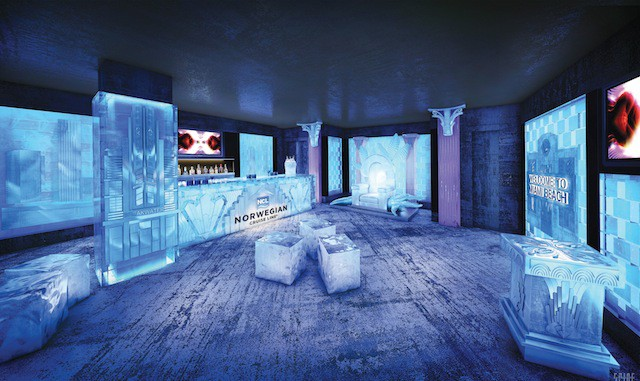 Norwegian Getaway Icebar im Miami-Stil / © Norwegian Cruise Line