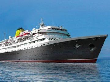 MS Azores ab 2016 als MS Astoria unterwegs in Frankreich