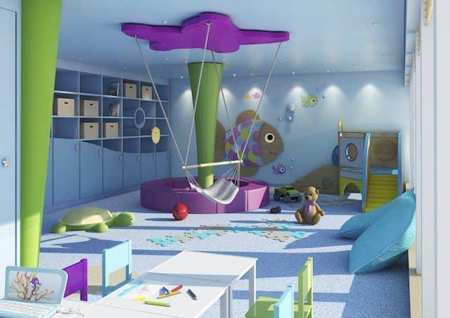 Baby-Spielraum auf AIDAprima / © AIDA Cruises