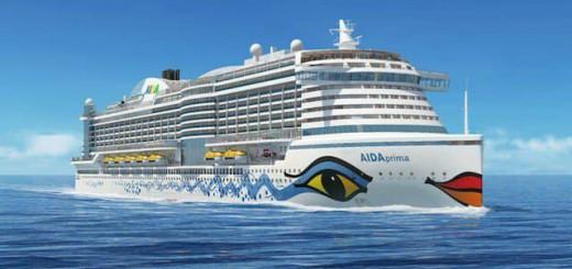 AIDAprima das Flaggschiff von AIDA Cruises/ © AIDA Cruises