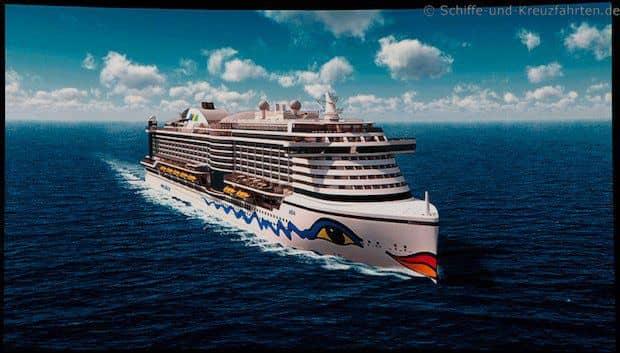 Vier AIDA Schiffe der neuen Generationen werden bis 2020 in Dienst gestellt