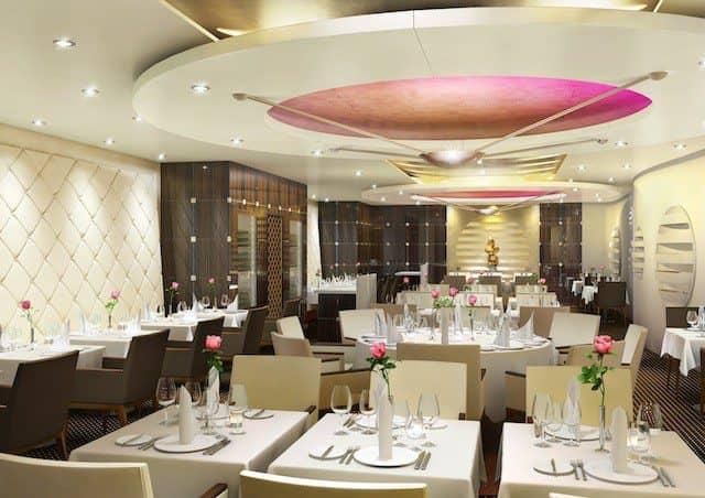 """Gourmet-Restaurant """"Rossini"""" auf AIDAprima"""