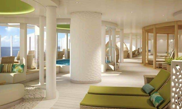 AIDAprima SPA und Wellness-Bereich / © AIDA Cruises