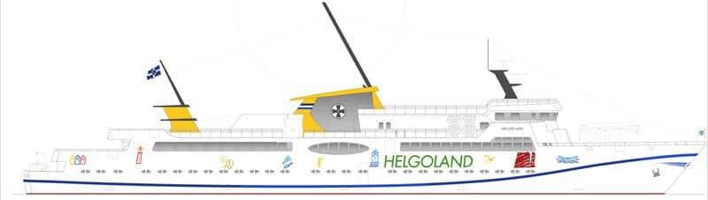 Das neue Helgolandschiff / © Reederei Cassen Eils