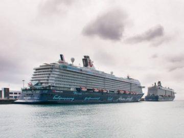 Ein Teil der Mein Schiff Flotte / © TUI Cruises