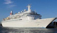 Fred Olsen schickt MS Boudicca sechs Tage in die Lloyd Werft
