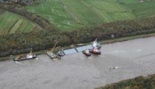 Siderfly wird geborgen: Nord-Ostsee-Kanal wieder befahrbar (Kategorie 1-3)