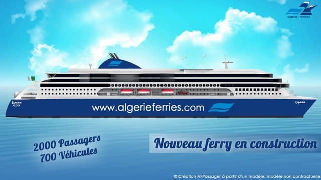 Fotomontage des Neubaus - Bildquelle: Algerie Ferries