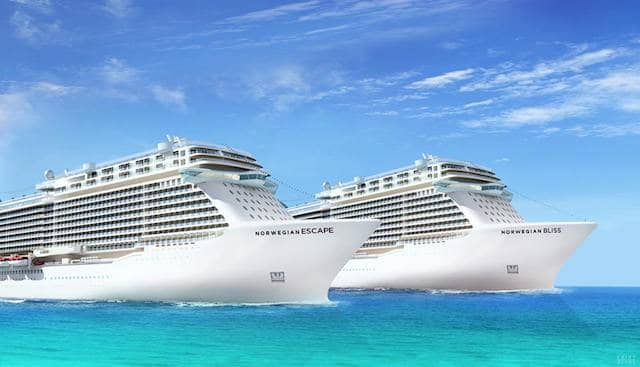 Norwegian Escape und Norwegian Bliss (Breakaway Plus) / © Norwegian Cruise Line