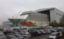 Meyer Werft Übergabe der Norwegian Getaway