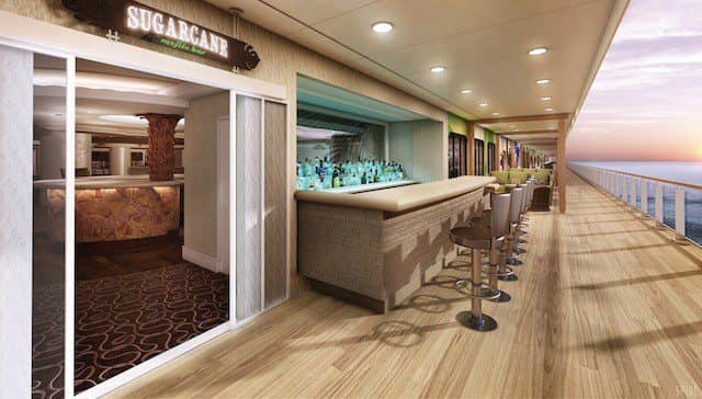 Sugarcane Mojito Bar auf Norwegian Getaway / © Norwegian Cruise Line