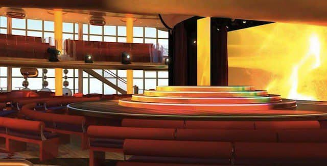 Das neue Theatrium auf AIDAprima / © AIDA Cruises (Video Screenshot)