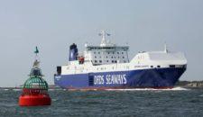 Brand an Bord der Britannia Seaways vor Norwegen
