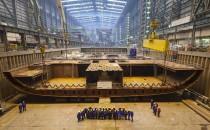 Anthem of the Seas auf der Meyer auf Kiel gelegt
