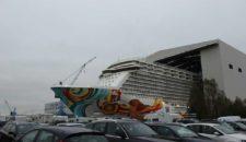 Farewell Party für Meyer Werft Mitarbeiter auf der Norwegian Getaway
