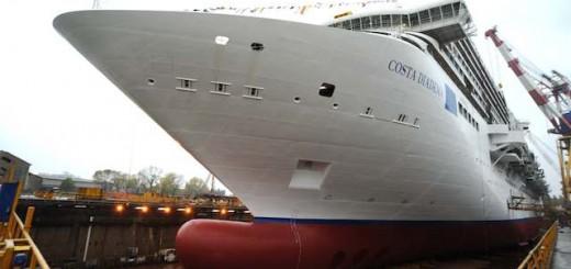Costa Diadema in der Werft / © Costa Crociere