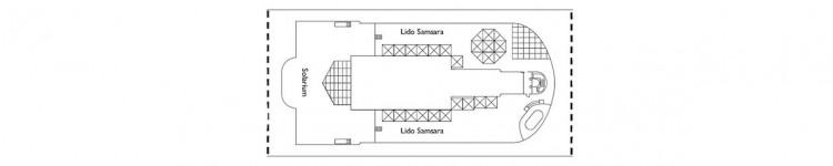 Costa Diadema Deckplan - Deck 15 / © Costa Kreuzfahrten