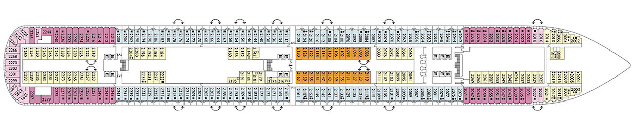 Costa diadema deck plans pictures to pin on pinterest for Deckplan costa diadema