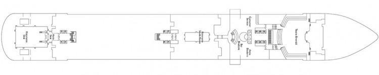 Costa Diadema Deckplan - Deck 3 / © Costa Kreuzfahrten