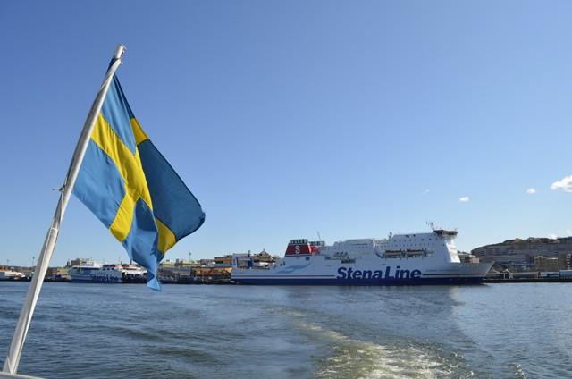 Dänemark-Terminal von Stena Line in Göteborg - Bildquelle Schiffe und Kreuzfahrten/Marcel Brech