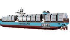 Lego 10241 Maersk Triple-E-Klasse: Containerschiff zum selber bauen