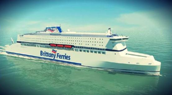 Studie zum Neubau für Brittany Ferries - Bildquelle: Brittany Ferries/DR