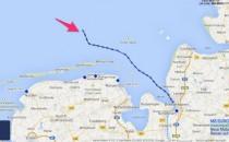 Norwegian Getaway wegen Xaver aus Bremerhaven ausgelaufen