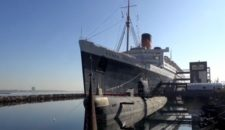 Queen Mary in Long Beach als Hotelschiff