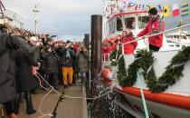 """Neuer Seenotkreuzer """"Pidder Lüng"""" auf Sylt getauft"""