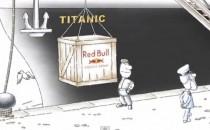 Red Bull Werbung mit der Titanic