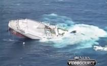 Kreuzfahrtschiff gesunken: MS Oceanos Untergang im Video