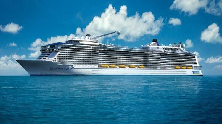 Ausdocken Quantum of the Seas / © Meyer Werft