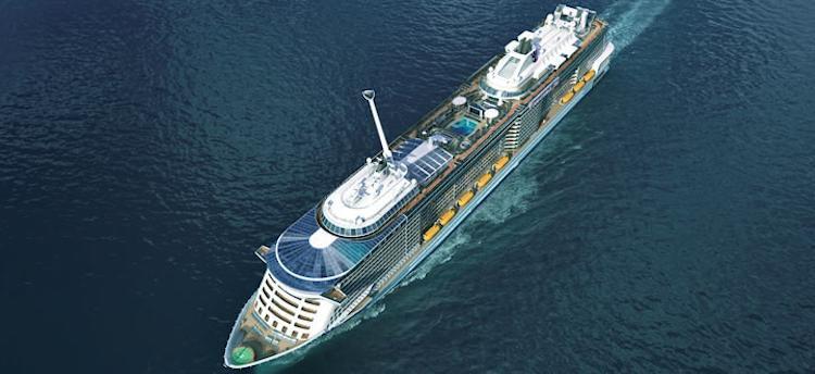 Quantum of the Seas Emsüberführung / © Royal Caribbean International