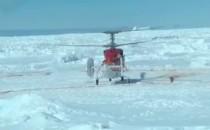 Akademik Shokalskiy Gäste mit Hubschrauber aus der Antarktis gerettet