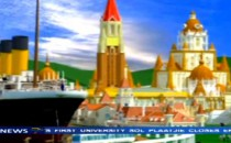 Täglicher Titanic-Untergang in China im Freizeitpark