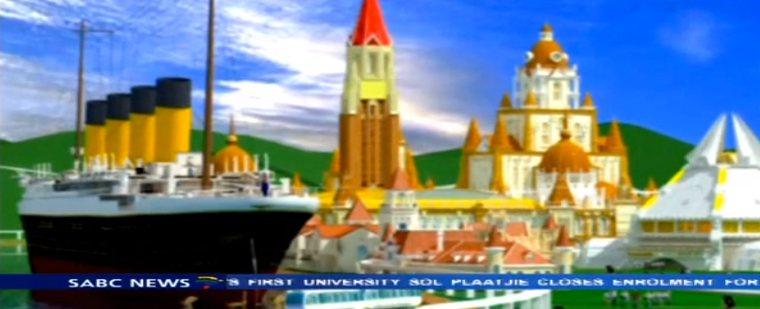 Titanic im Freizeitpark Daying in China / © Screenshot Youtube (sabcdigitalnews)