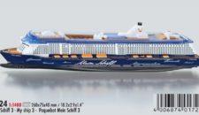 """Modellschiff """"Mein Schiff 3"""" von SIKU (1724)"""