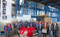 10.000 Schiffskabine auf der Meyer Werft überreicht